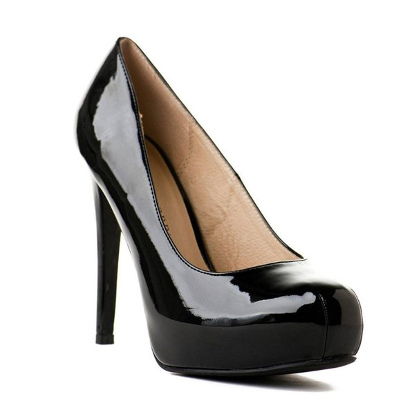 Chinese Laundry | Whistle Platform Pump in Black